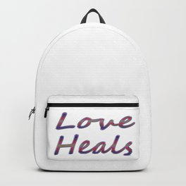 Love Heals Backpack