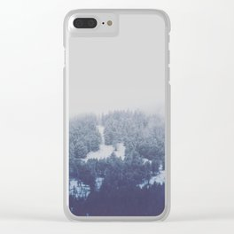 A Quiet Day at the Office Clear iPhone Case
