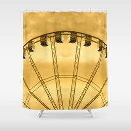 Carnival Cryptography Shower Curtain