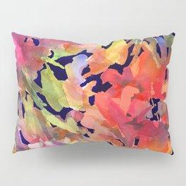 Midnight Magenta Garden Pillow Sham