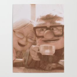 up movie love Poster