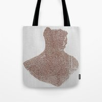 medieval Tote Bags featuring Medieval by DM Davis