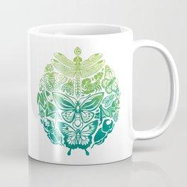 Bugs & Butterflies: green Coffee Mug