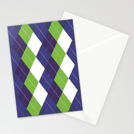 Seattle Argyle Stationery Cards