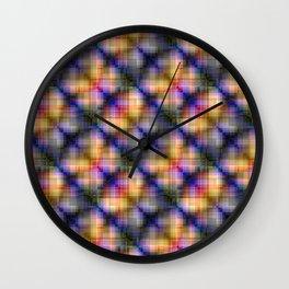 Multi-colored  pattern .2 Wall Clock