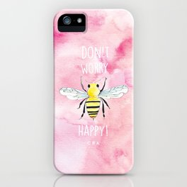 i am grey iPhone Case