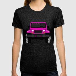 'Boston' Pink Jeep Girl T-shirt