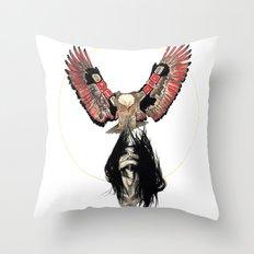 Haida Eagle Throw Pillow