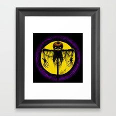 Killing Moon Framed Art Print