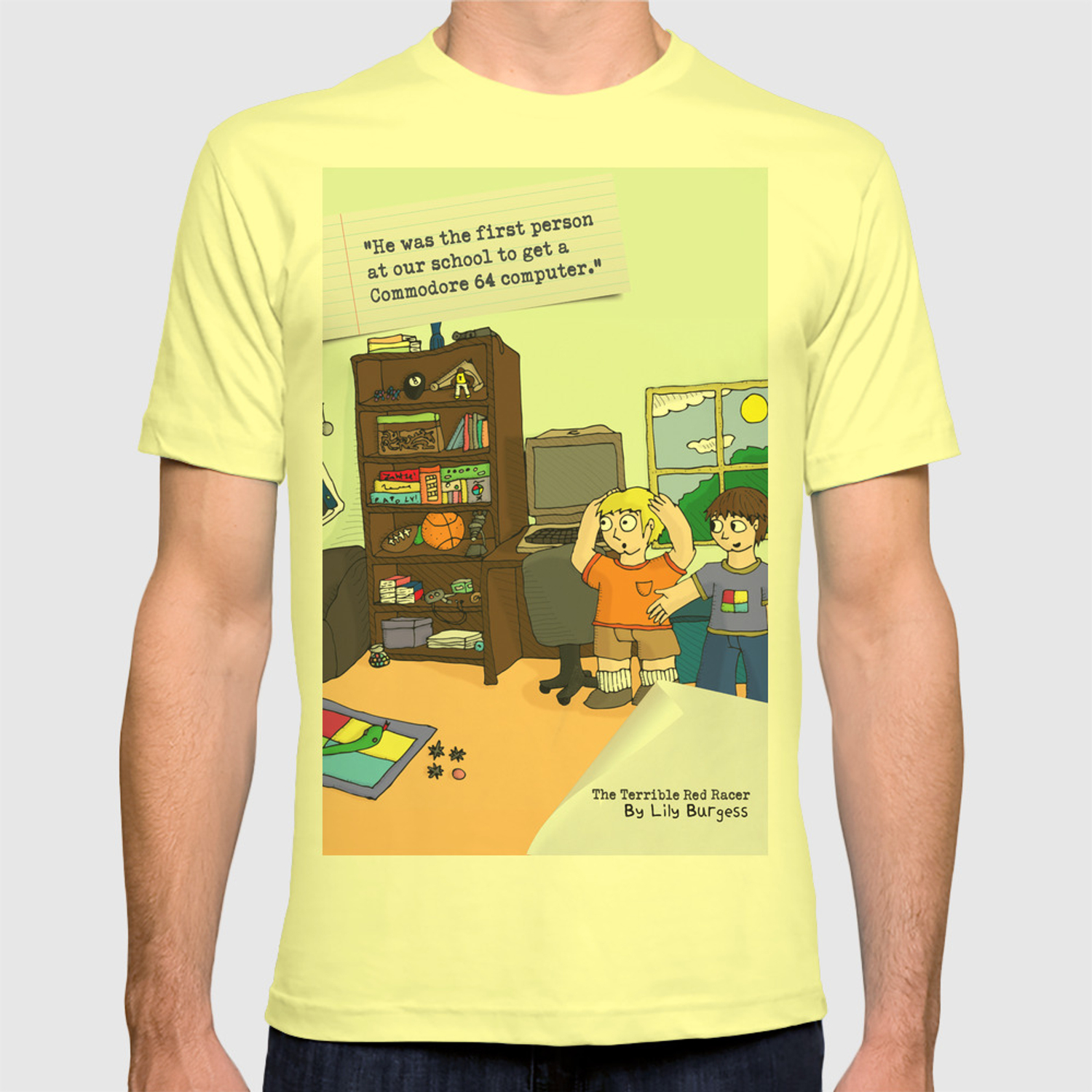The Terrible Red Racer - Commodore 64 T-shirt