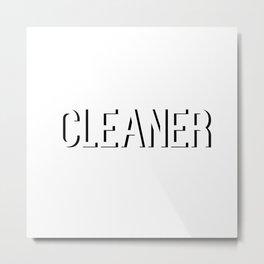 Broad City Cleaner 2 Metal Print