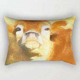 A Moo Attitude Rectangular Pillow
