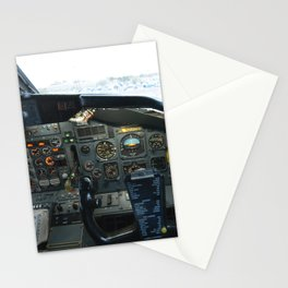 737 Airliner Cockpit Stationery Cards
