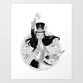 The Ringmaster Art Print
