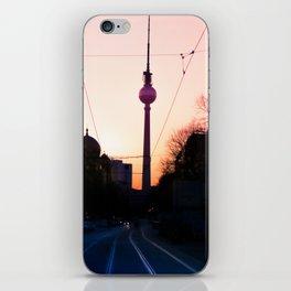 Berlin TV Tower Fernsehturm iPhone Skin