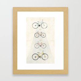 Velo Framed Art Print