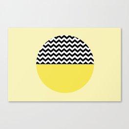 Moiety Yellow Canvas Print