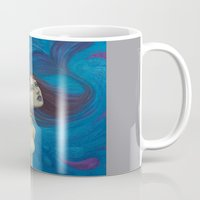 pisces Mugs featuring Pisces by Artist Andrea