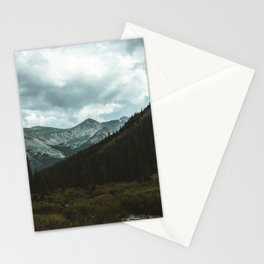 Dark Mountains Stationery Cards