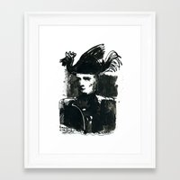 napoleon Framed Art Prints featuring napoleon by Chuchuligoff