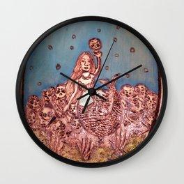 The Siren's Seduction Wall Clock