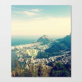 View of Rio de Janeiro Canvas Print