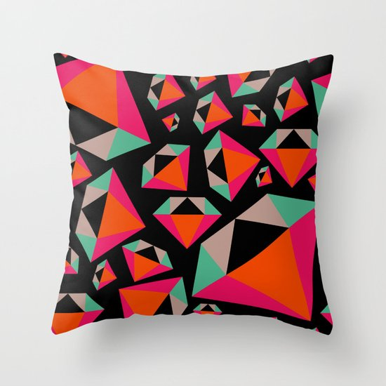 Diamonds Are A Girl's Best Friend Throw Pillow