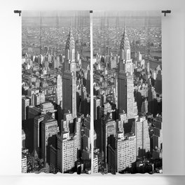 Chrysler Building, New York City 1932 Blackout Curtain