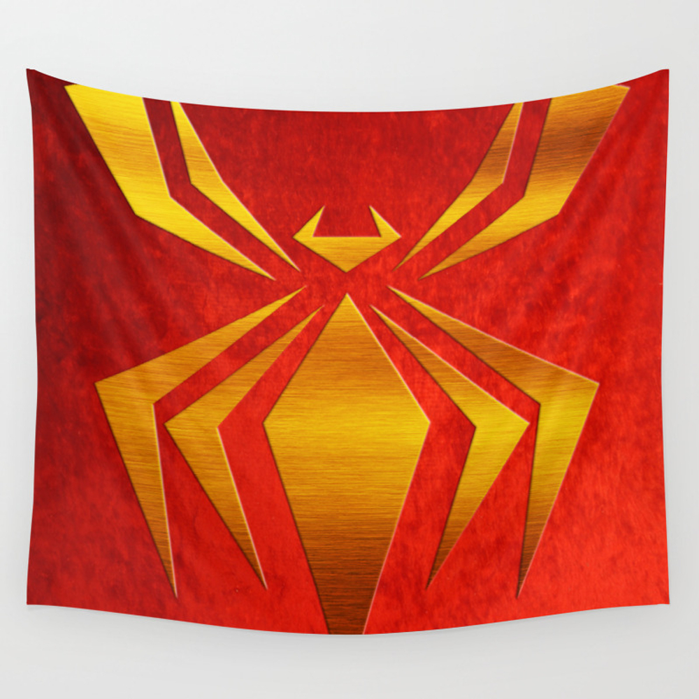 Iron Spider-man Wall Tapestry by Somedesigns TPS2959448