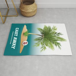 Cast Away - Alternative Movie Poster Rug