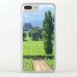 Napa Valley Clear iPhone Case
