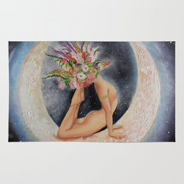 Goddess Divine Yogini Rug