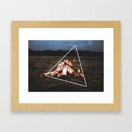 Hot Framed Art Print