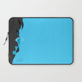 Cyan Tears Laptop Sleeve
