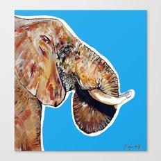 Elephan 1 Canvas Print