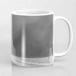 Car Driving in Dust Bowl - Texas 1936 Coffee Mug