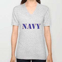 U.S. Navy  Unisex V-Neck