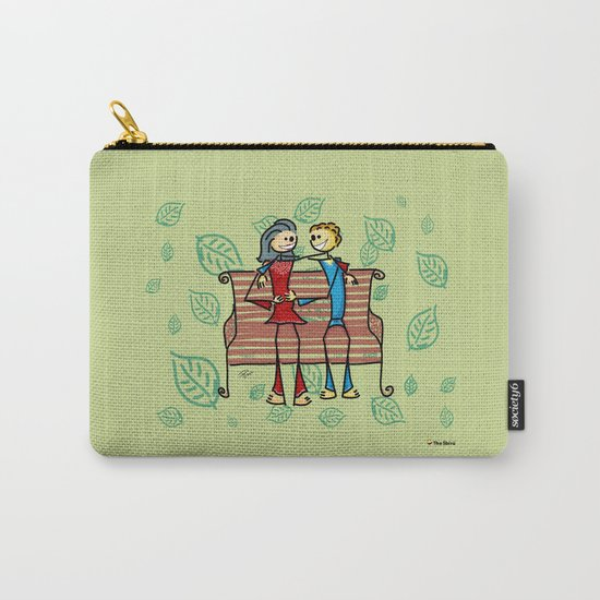 Life and living Carry-All Pouch