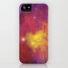 Nebula (plain) iPhone Case