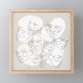 together in this Framed Mini Art Print