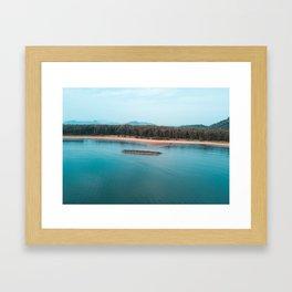 • SPELL OF THE OCEAN • Framed Art Print