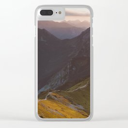 Before sunset - Landscape and Nature Photography Clear iPhone Case