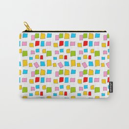 rectangle and abstraction 3-mutlicolor,abstraction,abstract,fun,rectangle,square,rectangled,geometri Carry-All Pouch