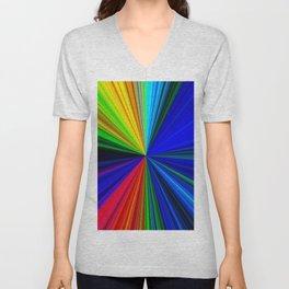 Colours of a Rainbow Unisex V-Neck