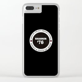 76 Clear iPhone Case