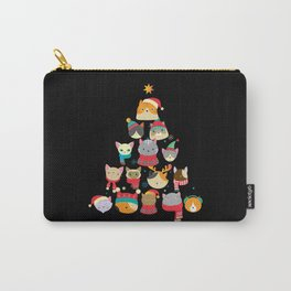ChristmasTree Cats Christmas Present Carry-All Pouch