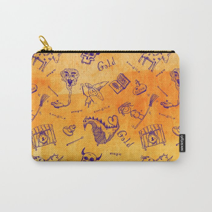 Magic symbols Carry-All Pouch