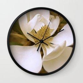 Angelic Magnolia II Wall Clock