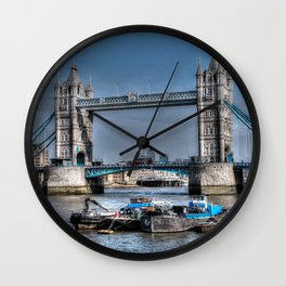 London Tower Bridge Wall Clock