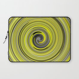 Grey-yellow newaves Laptop Sleeve